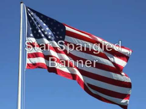 Star Spangled Banner with Lyrics, Vocals, and Beautiful Photos
